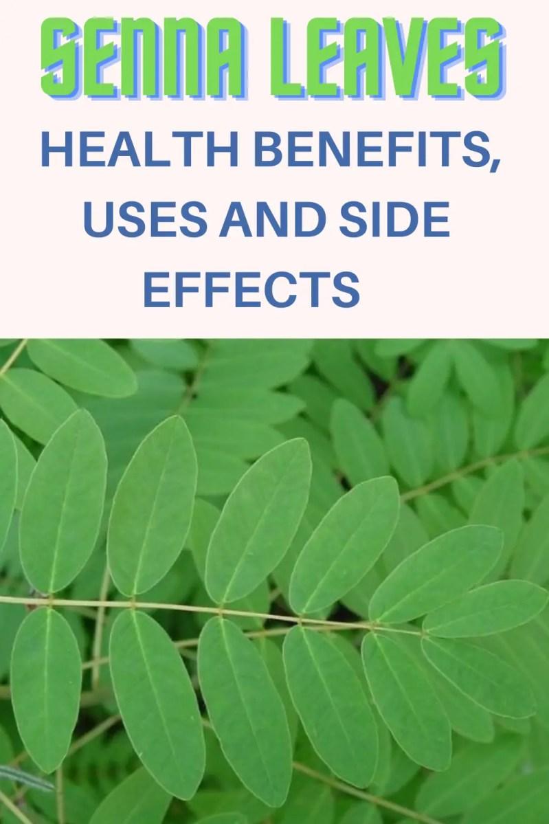 SENNA LEAVES Health benefits