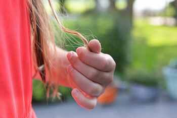 hair ends