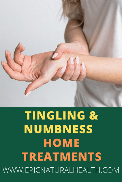tingling and numbness home treatments