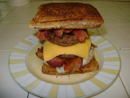 Heart Attack Sandwich