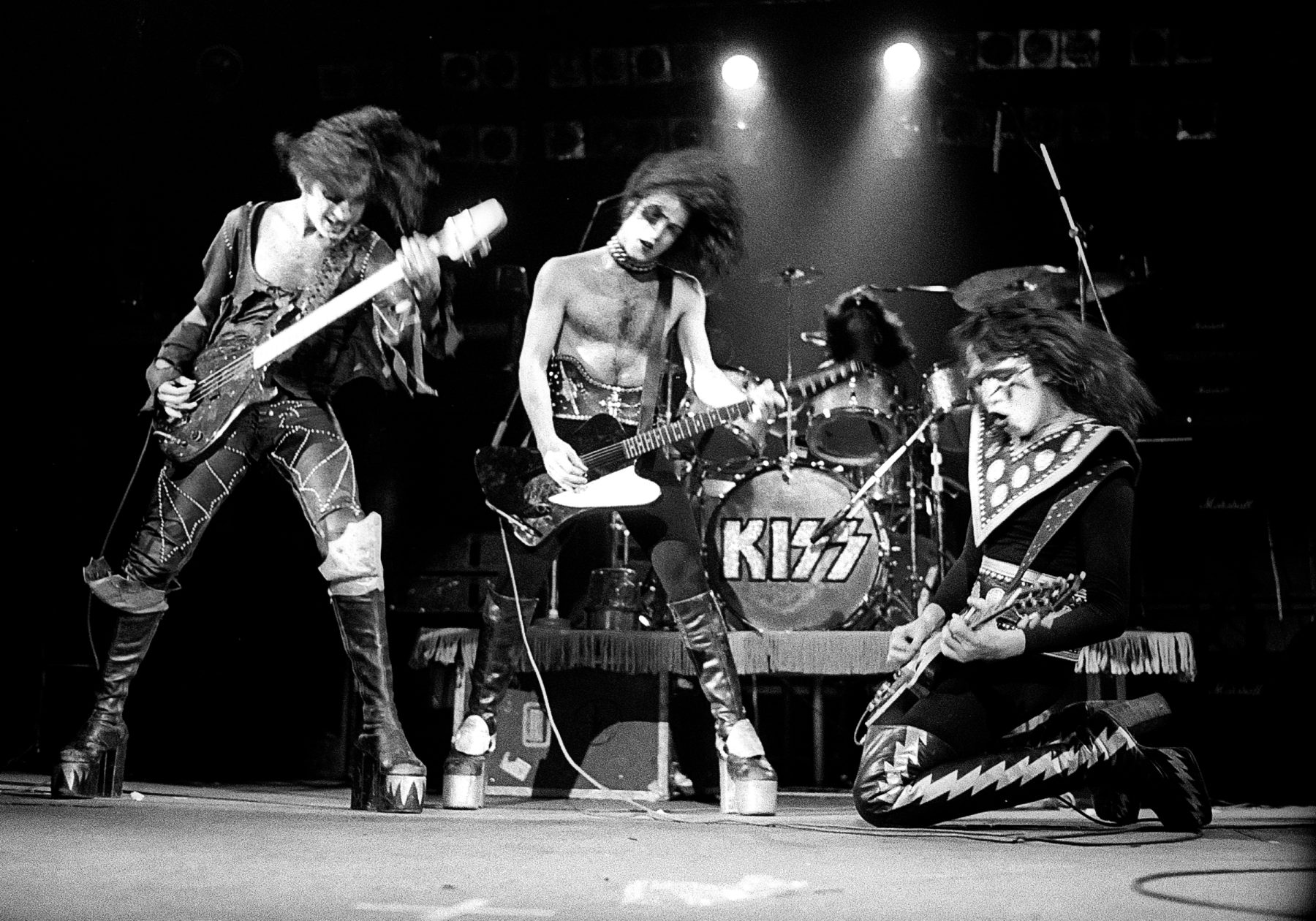 Image result for kiss live 1975