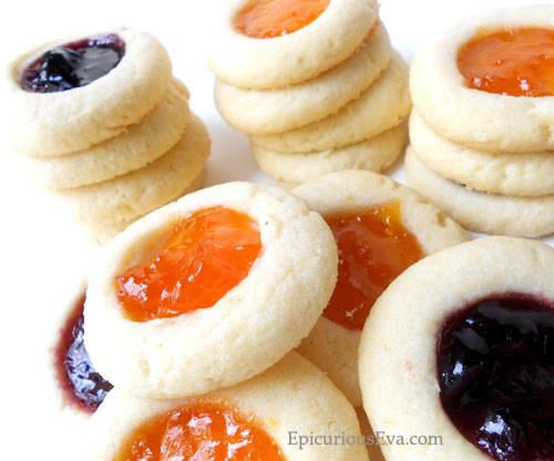 Almond & Butter Fruit Thumbprint Cookies