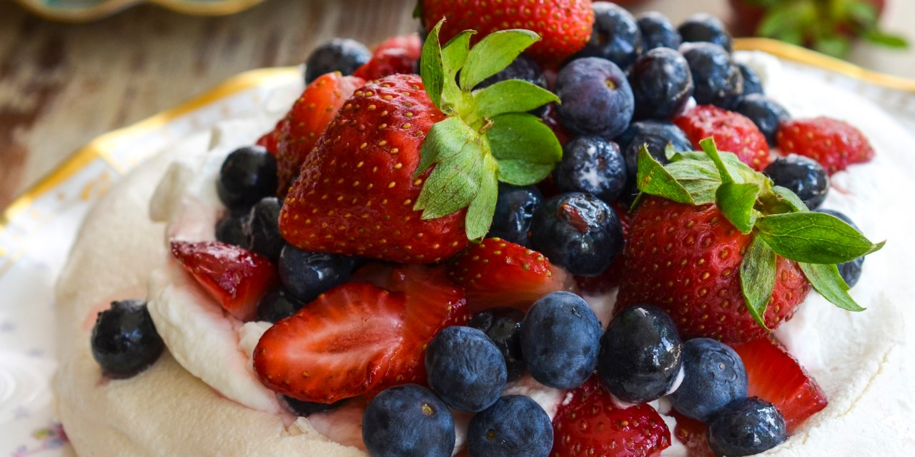 Pavlova With Fresh Berries