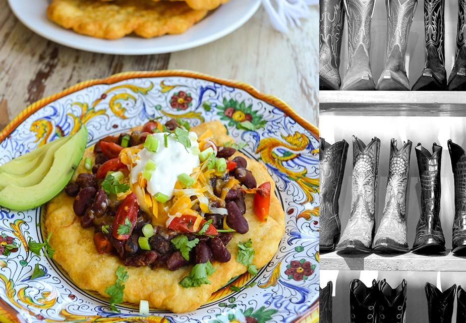 Navajo Tacos ~ Santa Fe Style