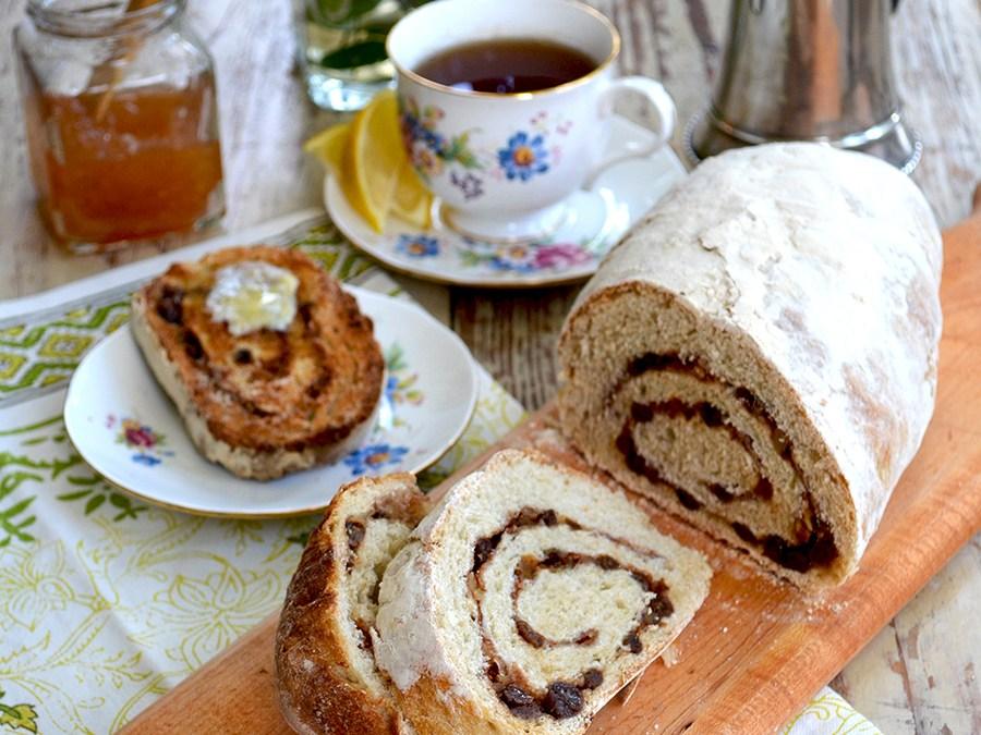 Cinnamon, Honey & Raisin Bread