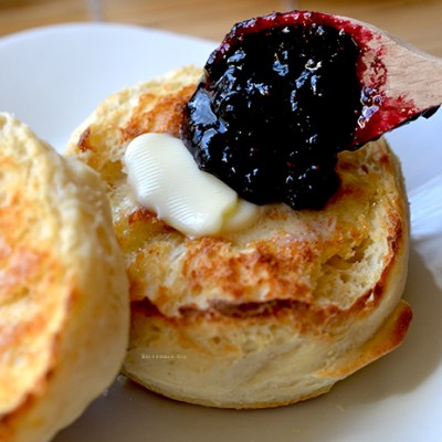 Homemade Buttermilk English Muffins