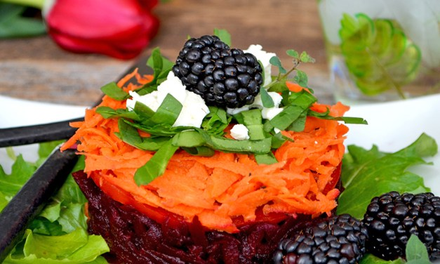 Pickled Carrot & Roasted Beet Tartare Salad {gluten-free}{vegetarian}{grain-free}