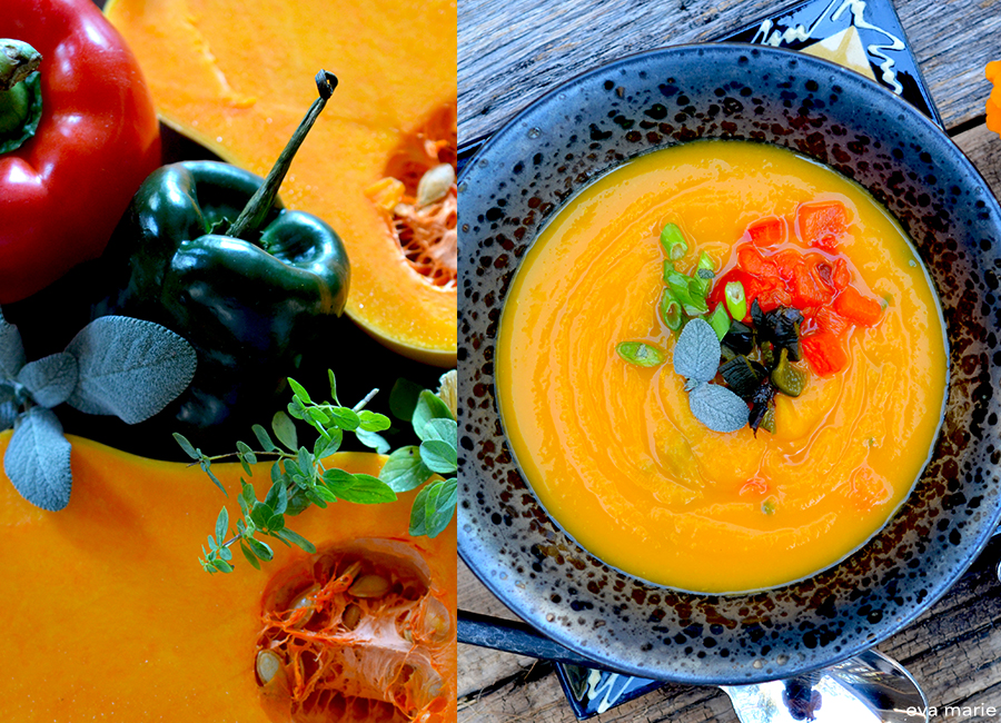 southwest butternut squash soup 1