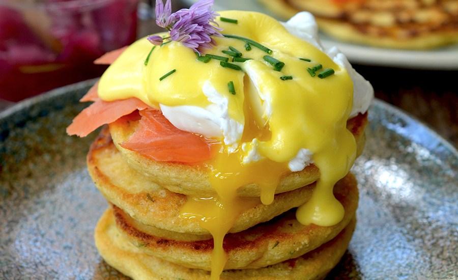 Savory Chickpea Pancakes {vegetarian, gluten-free}