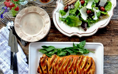 Roasted Tomato Strudel {vegetarian}