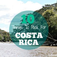 Costa Rica Packing List: 10 Things You Should Take
