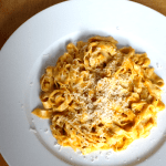 Butternut Squash and Mascarpone Fettucine