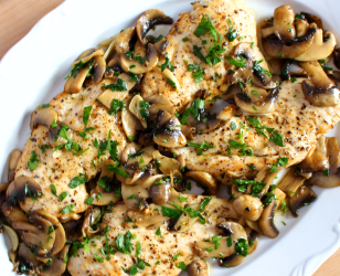 Mushroom Oregano Chicken