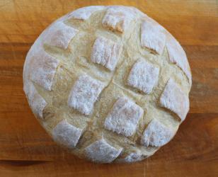 Mild Sourdough Bread