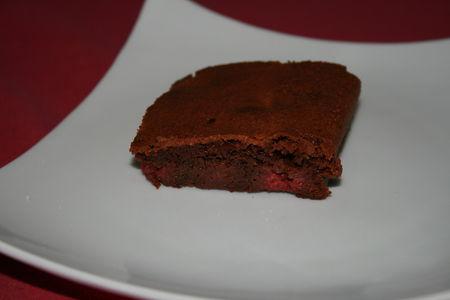 Gâteau chocolat-framboises !