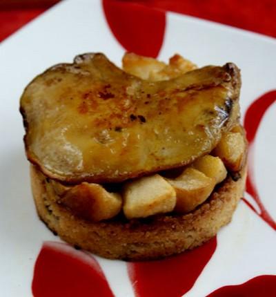 Foie gras poêlé sur pain d'épices