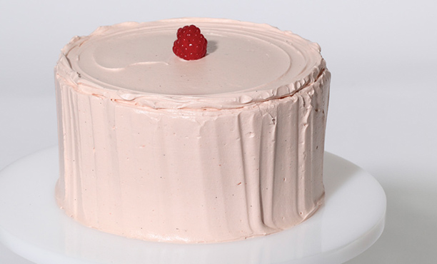 Modern Art Desserts: Thiebaud Pink Cake