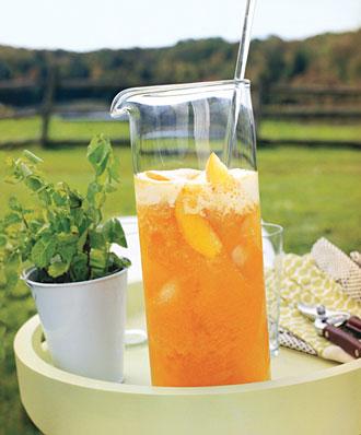 Sweet Peach Tea recipe