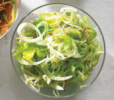 Celery, Apple, and Fennel Slaw recipe