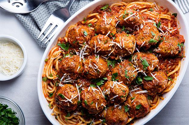 Our Favorite Spaghetti and Meatballs recipe