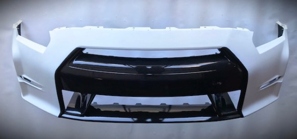n-tune front bumper raw 3