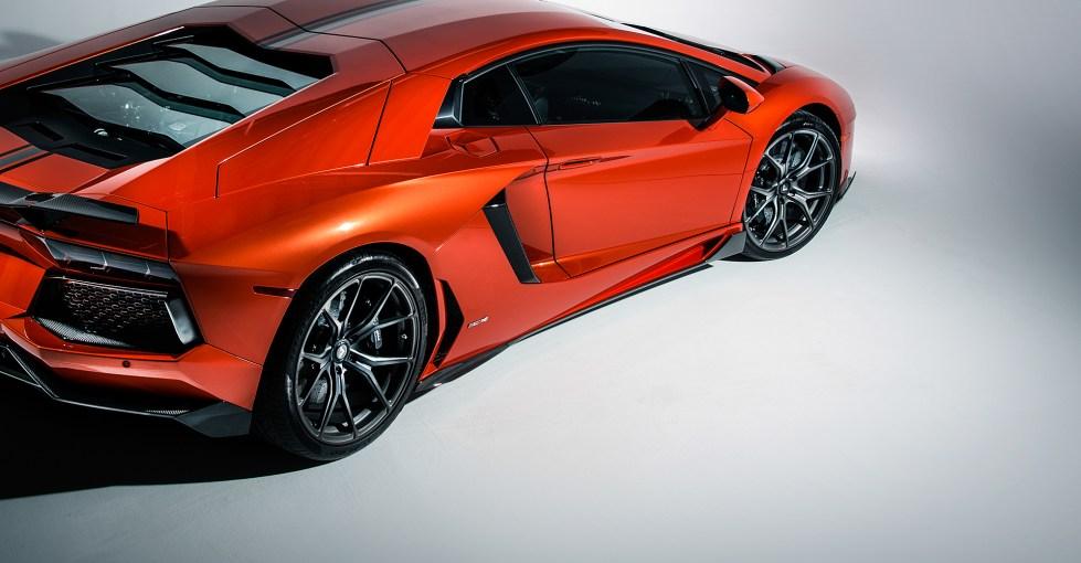 Vorsteiner Aventador-V Aero Side Blades, Carbon Fiber Set Of Two PP 2x2 Glossy