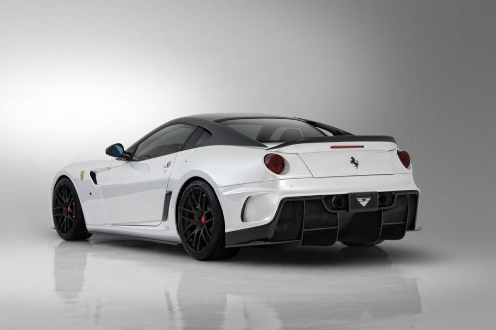 Vorsteiner Ferrari 599-VX Aero Aerodynamic Deck Lid Spoiler Carbon Fiber PP 1x1 Glossy