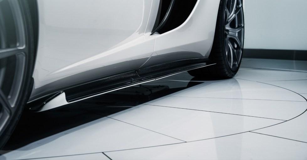 Vorsteiner Mclaren MP4-12C V-MC Aero Side Blades Carbon Fiber  PP 2x2 Glossy