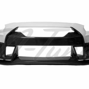 N-Tune Kit C (FRP/CF) – V2 Front Bumper & Front Splitter: 2009-2020 Nissan R35 GTR