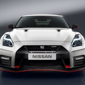 Nissan OEM Front Bumper Upper Grille: 2017+ R35 GTR (Nismo Edition)