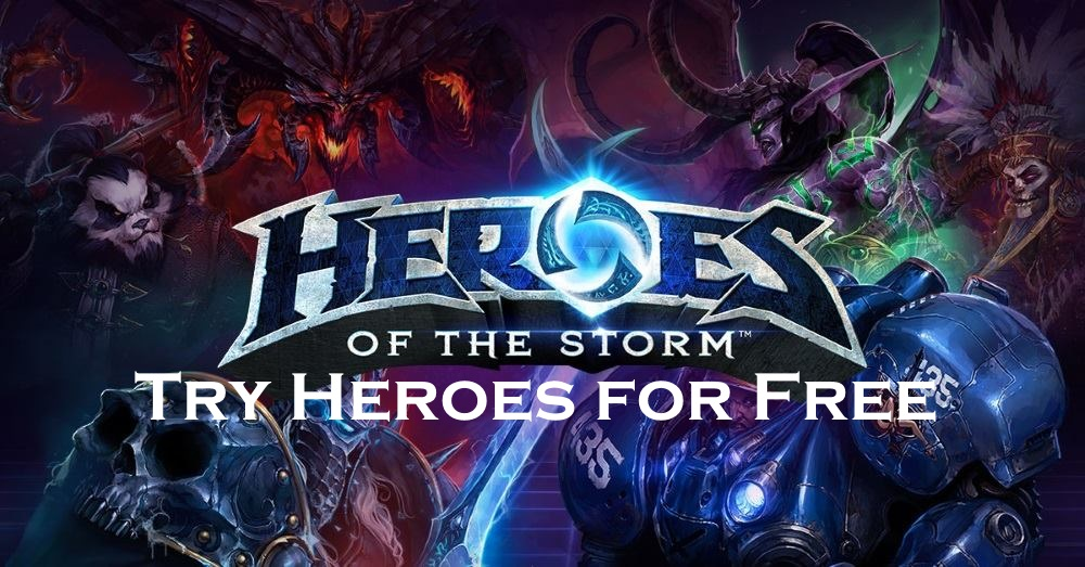 How to Try Heroes for Free in Heroes of the Storm