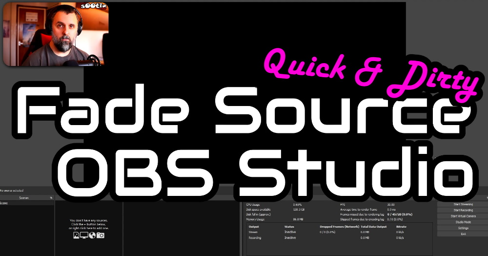 How to Fade Sources In / Out in OBS Studio