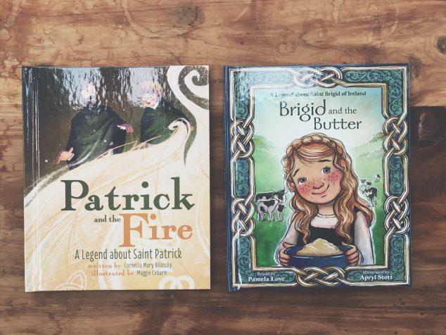 Patrick & Brigid arrived in my Mailbox