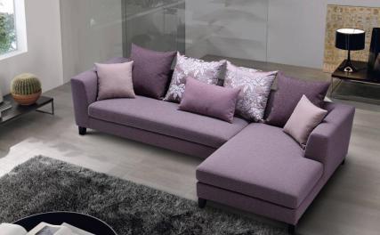 Γωνιακός Καναπές Purple 10103