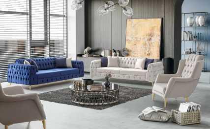 Κλασικός Καναπές Κρεβάτι Hector 13153