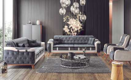 Κλασικός Καναπές Κρεβάτι Sardes 13125