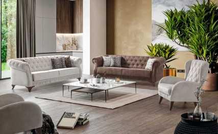 Κλασικός Καναπές Κρεβάτι Verona 13136