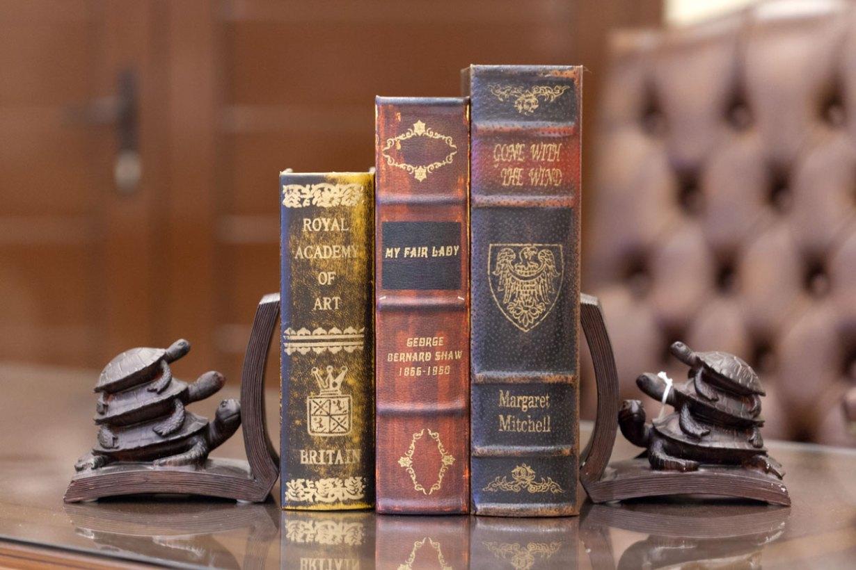 """Στήριγματα βιβλίων """"χελώνες"""""""