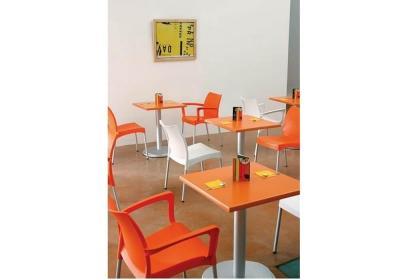 Καρέκλα από πολυπροπυλένιο και αλουμίνιο vita