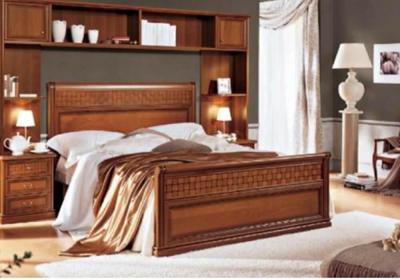 Υπέρδιπλο Κρεβάτι με Γεωμετρικό Σχήμα CG-050469