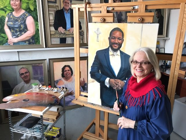 Faces of Courage: Artist gives immigrants high profile on canvas