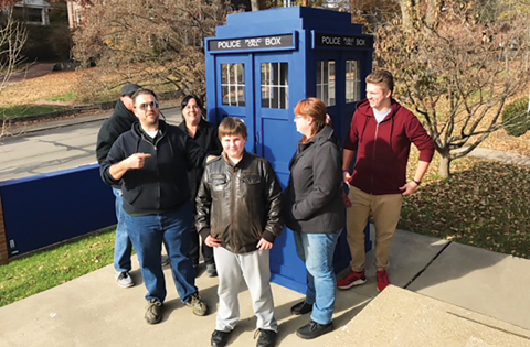 Time with the TARDIS enlivens campus ministry