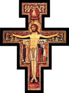 Saint francis Crucifix