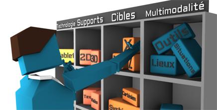 Concevoir un dispositif de formation numérique et multimodal