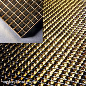 0 375 x 23 5 8 x 47 5 8 gold egg crate sheet
