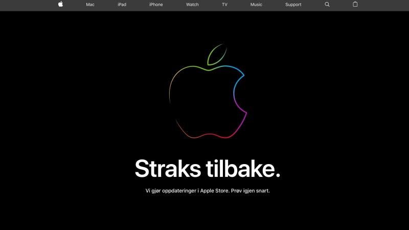 Apple Store stengt