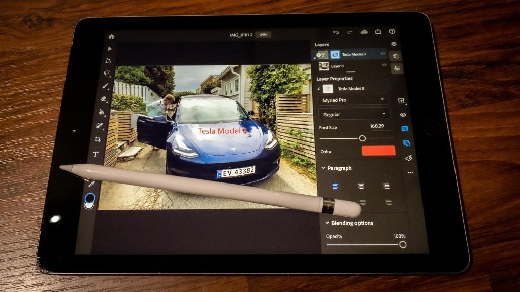 Photoshop for iPad