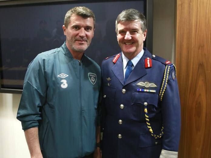 Roy Keane, former Man United player