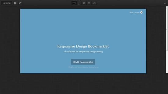 Tools Untuk Menguji Desain Web Responsive - Bookmarklet