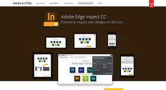 Tools Untuk Menguji Desain Web Responsive - Adobe Edge Inspect